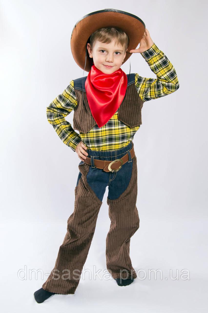 Карнавальный костюм для мальчиков Ковбой со шляпой