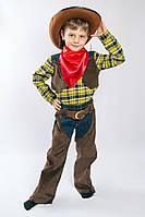 ПРОКАТ детский карнавальный костюм КОВБОЙ со шляпой.