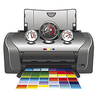 Прочистка печатающей головки картриджей для принтера МФУ обслуживание комплектующих