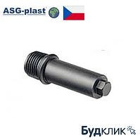 Полипропилен Заглушка Резьбовая 1/2 Длинная Asg-Plast (Чехия)