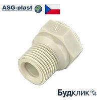 Полипропилен Заглушка Резьбовая 1/2 Короткая Asg-Plast (Чехия)