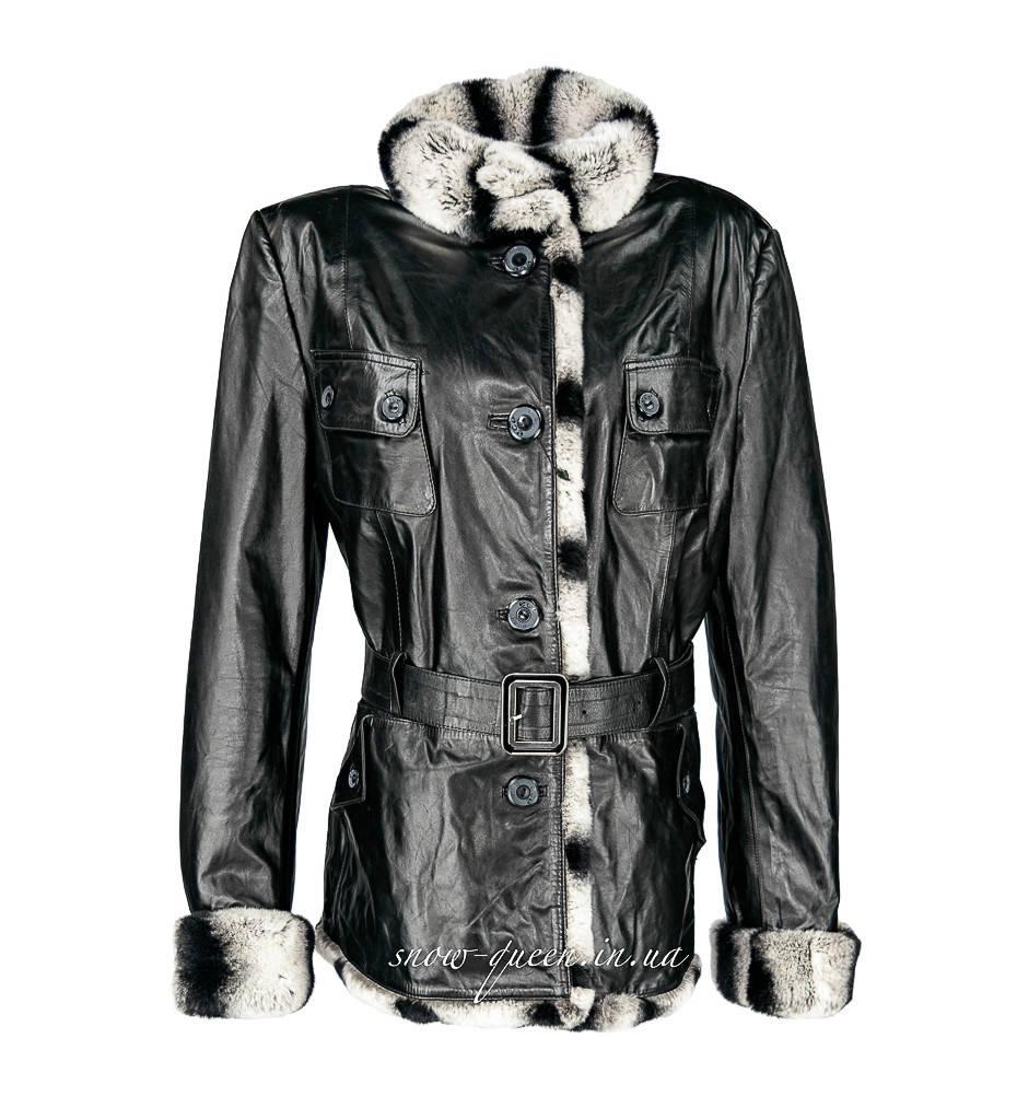 Кожаная куртка ECE