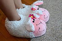 Тапочки-игрушки овечки