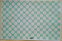 Фетр с цветочным рисунком принтом 027