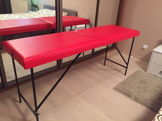 Кушетка для шугаринга, массажный стол, фото 2