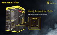 Универсальное зарядное устройство Nitecore i8 18650.16340.14500 и др. на 8 акб, фото 1