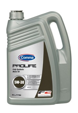 Синтетическое моторное масло Comma Prolife 5w30 5л (1л)