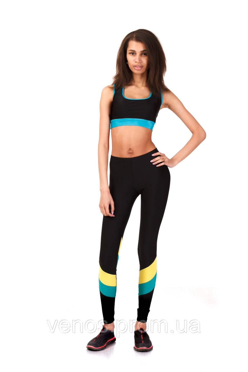 Модные женские лосины для фитнеса. L066