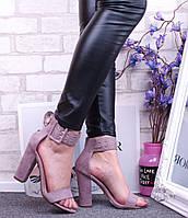 Легкие и удобные босоножки на устойчивом каблуке