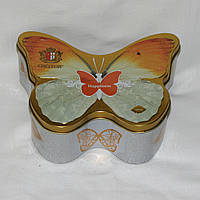 Жестяная коробка, шкатулка Hapiness Счастье Бабочка 18 х 13 х 7 см