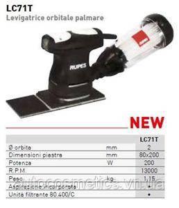 Ексцентрикова шліфувальна машинка RUPES LC71T STD 80*200мм