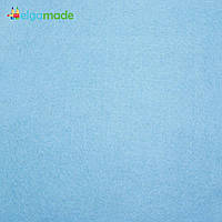 Фетр американский КОЛУМБИЙСКИЙ ГОЛУБОЙ, 31x46 см, 1.3 мм, полушерстяной мягкий, фото 1