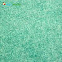 Фетр американский АМАЗОНИТ меланж, 31x46 см, 1.3 мм, полушерстяной мягкий, фото 1
