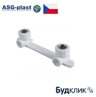 "Полипропиленовая водорозетка ""планка"" Ø20х1/2 РВ ASG-Plast (Чехия)"