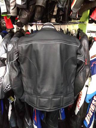 Мотокуртка бу кожа VANUCCI, фото 2