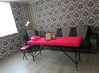 Стол для массажа, шугаринга, наращивание ресниц