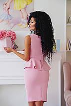 """Летний офисный женский костюм """"LOPES"""" с баской (3 цвета), фото 2"""