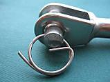 ESS нержавеющий наконечник для троса, вилка для леерного ограждения., фото 6