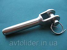 ESS нержавеющий наконечник для троса, вилка для леерного ограждения.