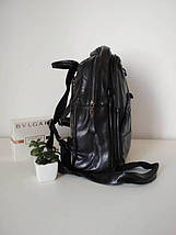Мини-рюкзак черного цвета для девушки 30*25*14 см, фото 3
