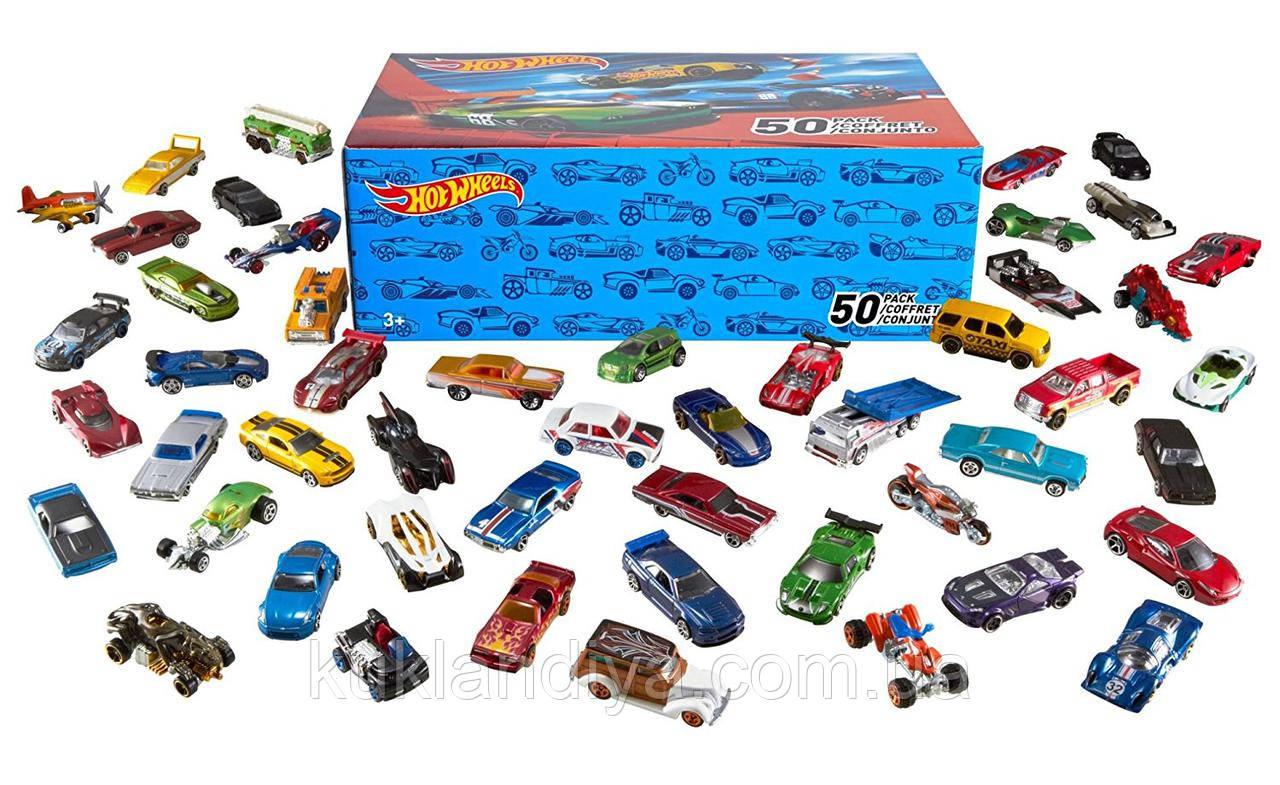 Машинки Hot Wheels из коробки
