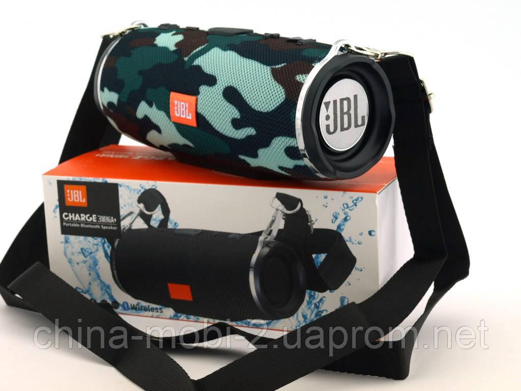 JBL Charge 3 mini A+ в стилі xtreme, портативна колонка з Bluetooth FM MP3, Squad камуфляжна