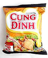 Лапша быстрого приготовления со вкусом краба Cung Dinh Micoem 80 г, фото 1