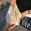 Хит - эко сумка авоська - 4 цвета, длинная ручка, фото 10