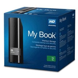 "Жесткий диск Western Digital My Book 2TB WDBFJK0020HBK-EESN 3.5 USB 3.0 External  ""Over-Stock"""