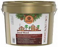 Масло воднодисперсионное ESKARO GOOD WOOD для деревянных срубов 9л