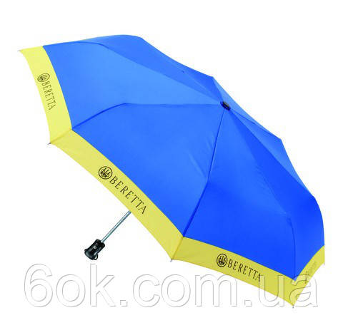 "Зонт складной ""Beretta"" голубой"
