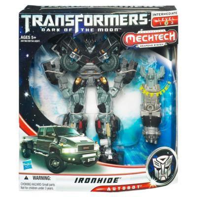 Автобот Айронхайд -  Ironhide, TF3, Voyager, MechTech, Hasbro