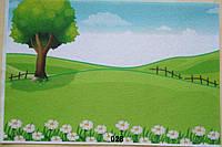 Фетр с  рисунком принтом игровой фон 028