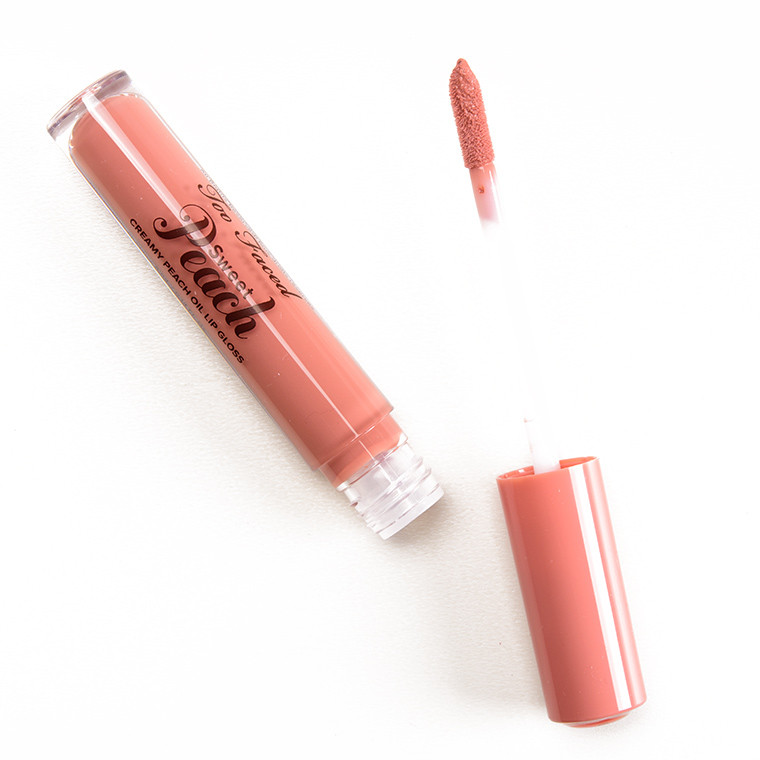 Блеск для губ TOO FACED Sweet Peach Creamy Peach Oil Lip Gloss