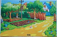 Фетр с  рисунком принтом игровой фон 030