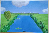Фетр с  рисунком принтом игровой фон 031