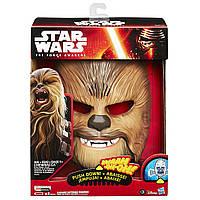 "Электронная маска Чубакка Вуки ""Звездные войны"" со звуком - Chewbacca Wookiee, Star Wars, Hasbro , фото 1"