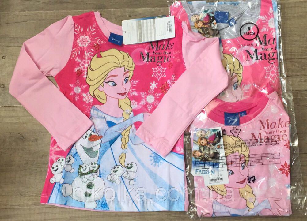 Трикотажный реглан для девочек оптом, Disney,3-8 лет., Арт.72550