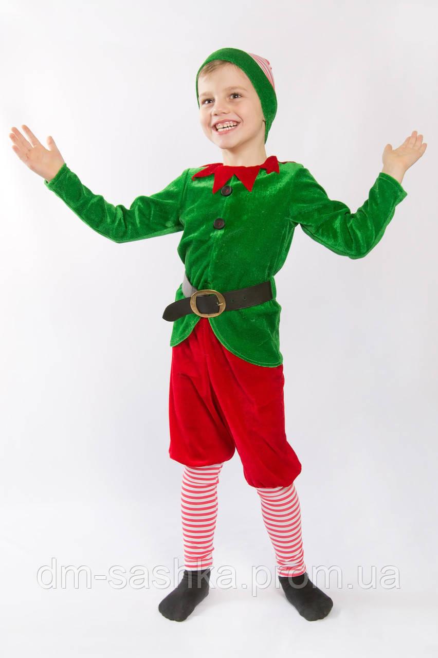 """Карнавальный костюм для мальчиков """"Рождественский эльф ... - photo#6"""
