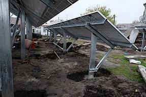 Солнечная сетевая станция 30 кВт г. Днепр 2