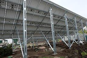 Солнечная сетевая станция 30 кВт г. Днепр 3