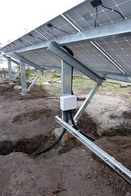Солнечная сетевая станция 30 кВт г. Днепр 4
