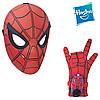 Маска Человека-паука с электронной перчаткой - Spider Sight Mask&Glove, Homecoming, Hasbro