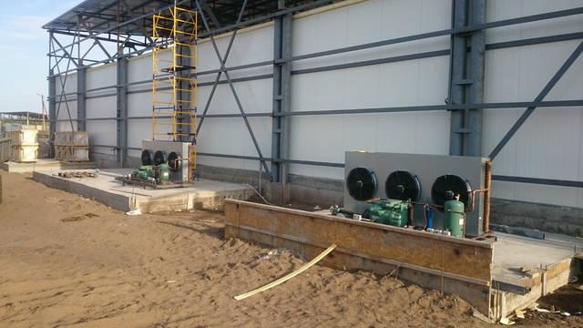 Хранилище для охлаждения и хранения черешни на 600 тонн ! 1