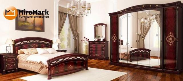 спальня Роселла перо рубино