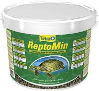 Корм для водных черепах ReptoMin Sticks 10 л Tetra