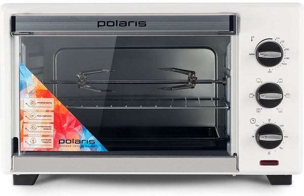 Электрическая печь Polaris PTO 0135GL White (электропечь)