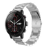 Металлический ремешок для часов Xiaomi Huami Amazfit SportWatch 2 / Amazfit Stratos - Silver