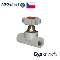 Вентиль Полипропиленовый 25 Asg-Plast (Чехия)