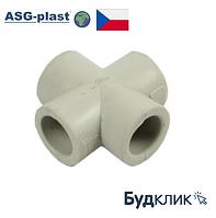 Крестовина Полипропиленовая 40 Asg-Plast (Чехия)